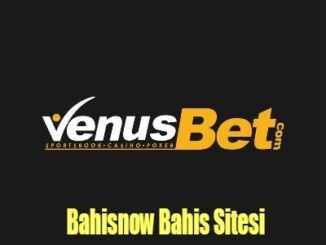 Bahisnow Bahis Sitesi